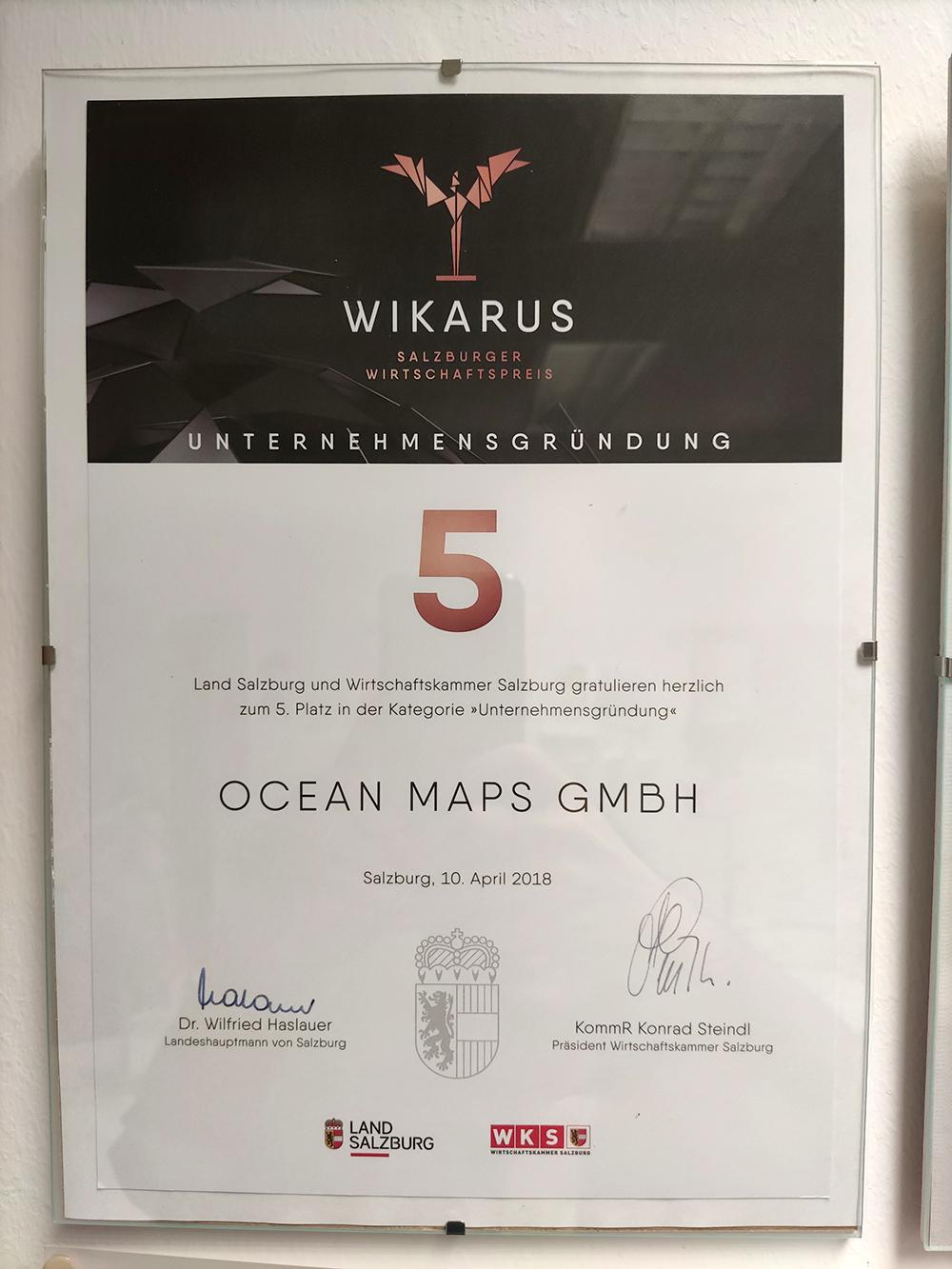 Wikarus Ocean-Maps-GmbH 2018