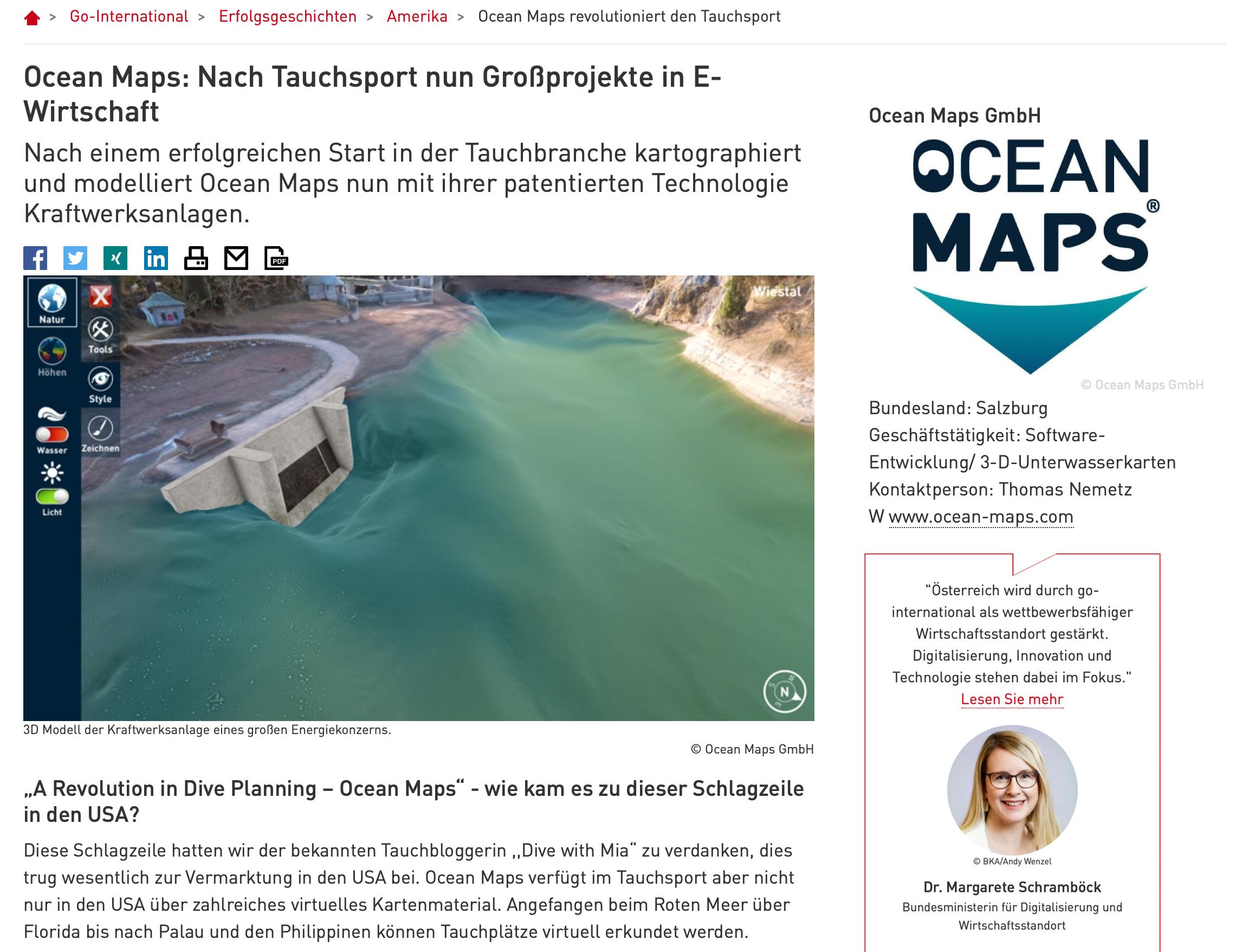 Go-International OCEAN-MAPS E-Wirtschaft