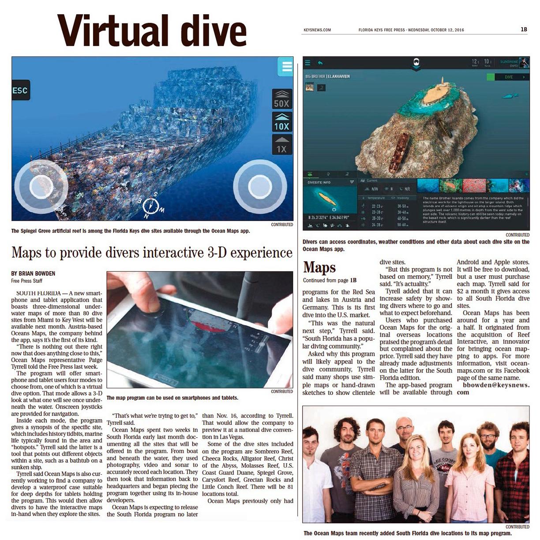 Virtual dive OCEAN-MAPS-GMBH