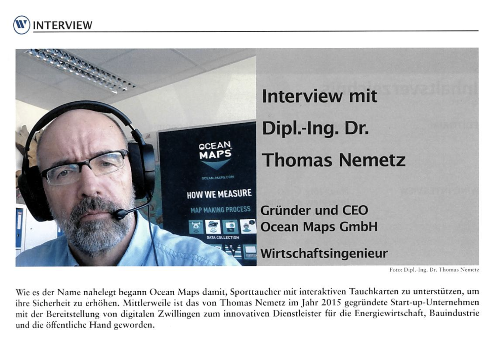 INTERVIEW OCEAN-MAPS-GMBH Thomas Nemetz