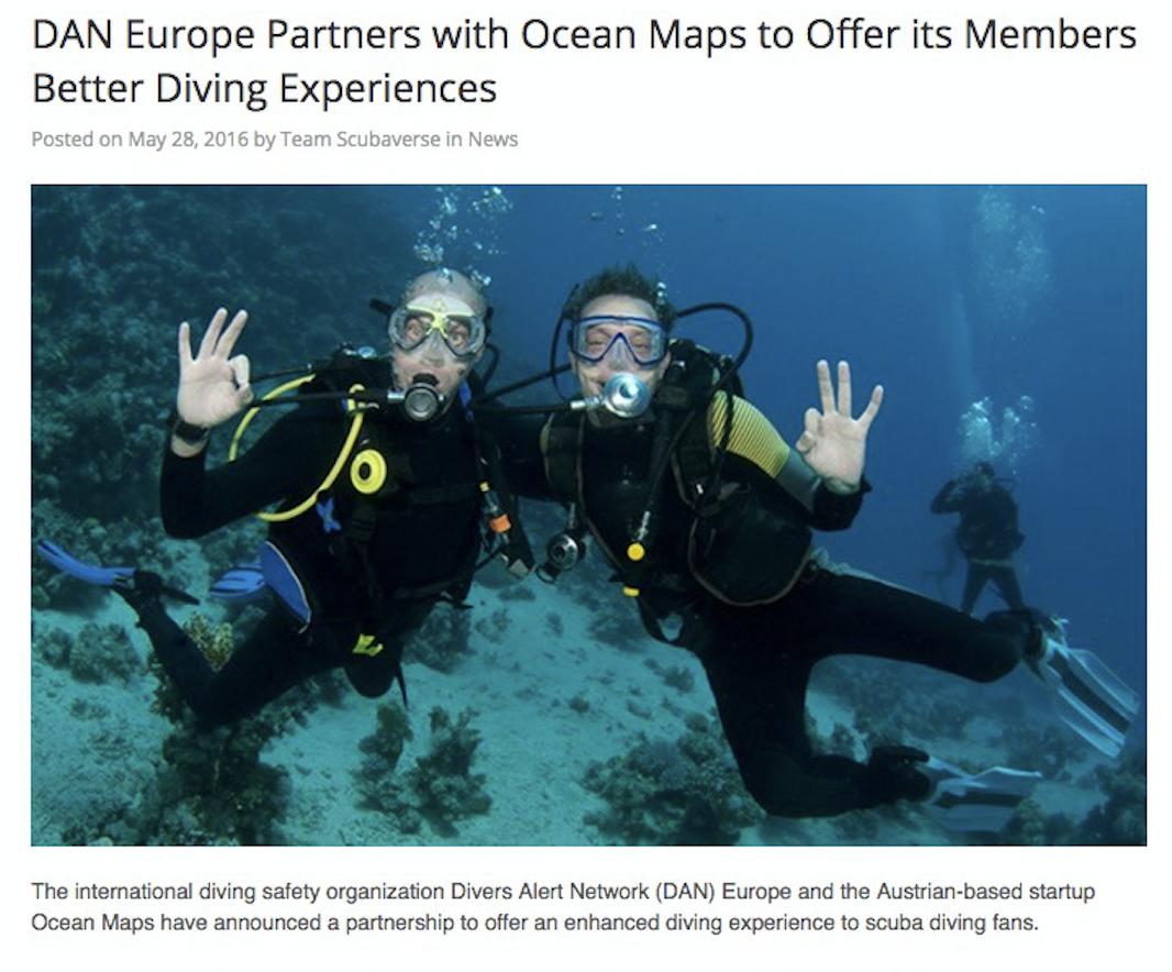 Scubaverse DAN_OCEAN-MAPS Diving